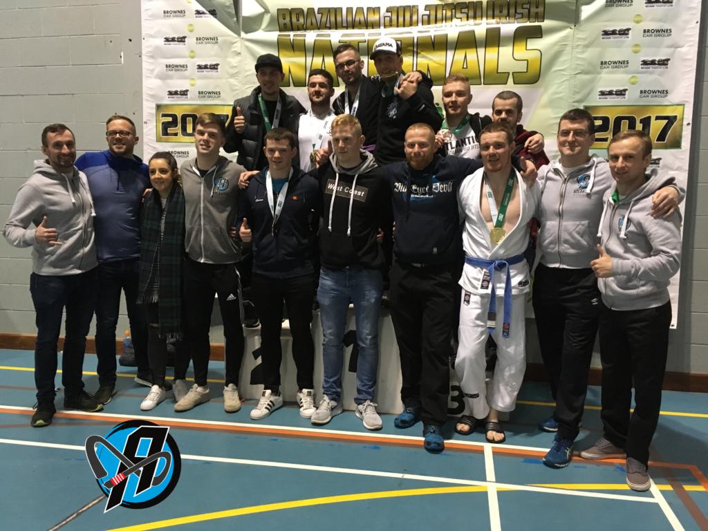 Success at National Irish Brazilian Jiu Jitsu Championships