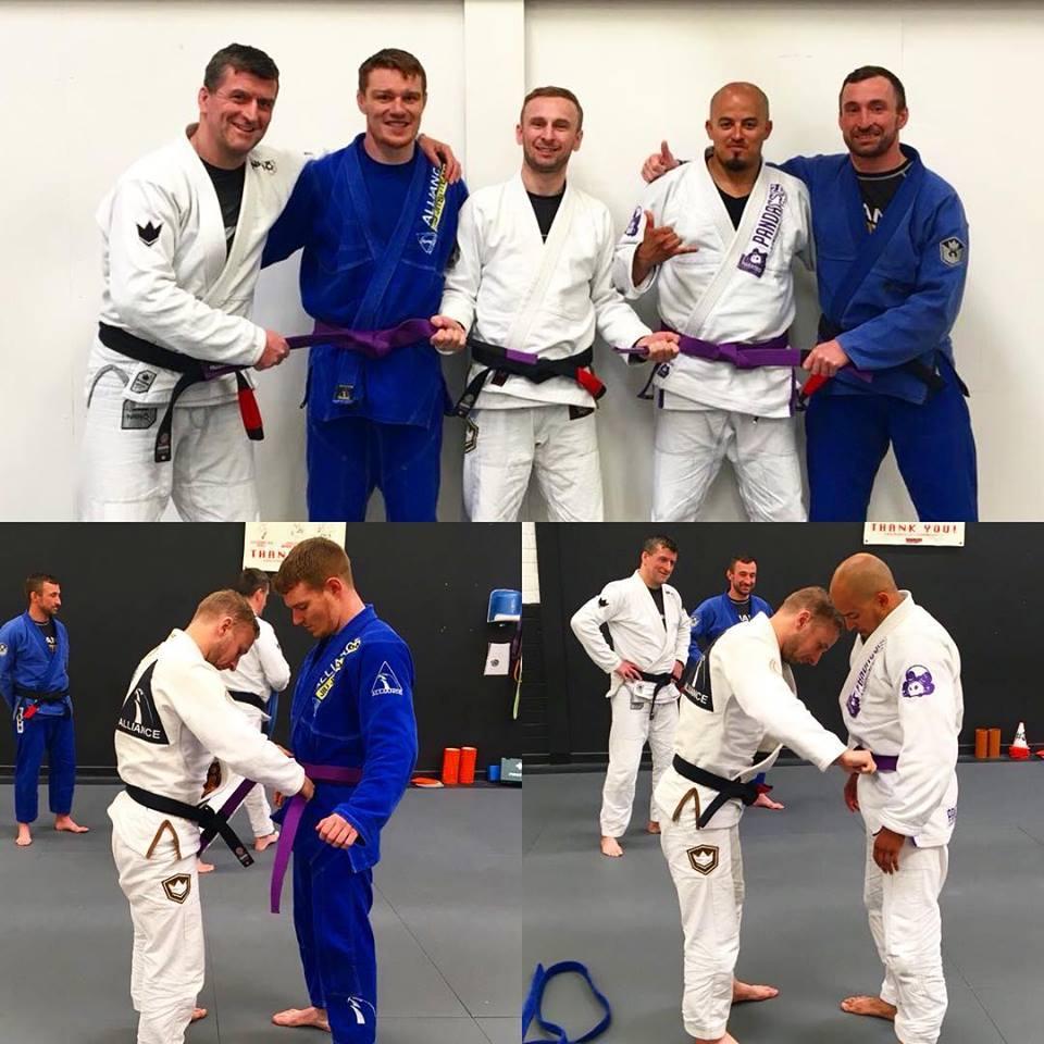 Purple Belt Promotions at Atlantic Jiu Jitsu | Atlantic Jiu